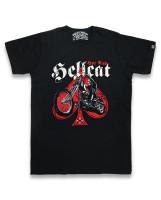 Skull biker hotrod hellcat