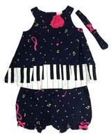 Baby kid set - piano
