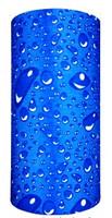 Blue aqua drops