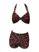 Cherries bikini pin up