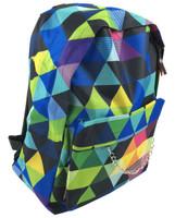 Classic rainbow check rucksack