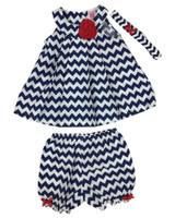 Baby kid set - dizzy stripes