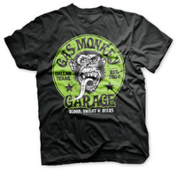 Proud rebel green emblem - gas monkey garage