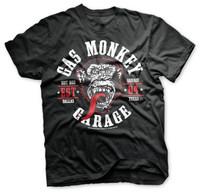 Red tongue - gas monkey garage