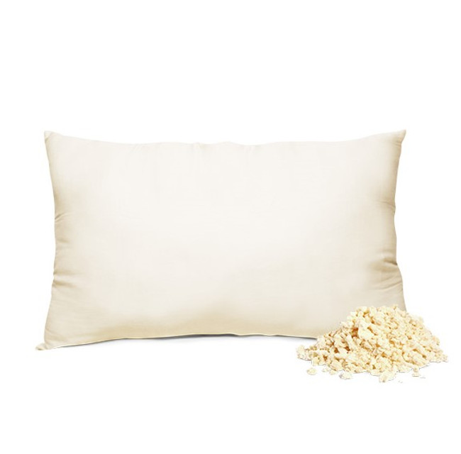 Shredded latex pillow latex pillow organic latex pillow organic pillow healthy pillow
