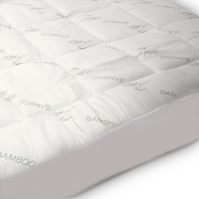 bamboo mattress pad mattress pad  Eco friendly mattress pad bamboo mattress