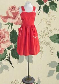 1940s cotton swiss dot dress