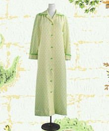 Breezy eyelet summer robe