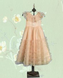 Childs' 1940s heirloom gown size 3/4