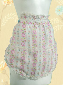 Floral apron from the 70s