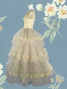 Foamy, frothy tulle creation