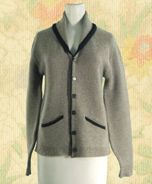 1950s Collared sweater jacket