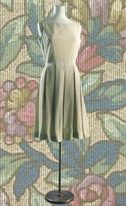 1950s Seersucker dress & short jacket set