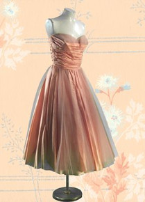 1950s Silk & tulle party frock