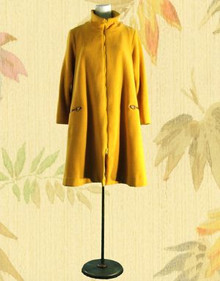 1960s Groovy wool coat from Don Sophisticates