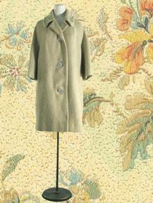 1950s woolly warm winter coat