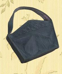 1930s rayon cord hand bag
