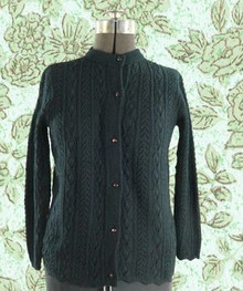 1960s Black button front sweater by 'Wintuk'