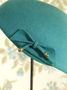 1950s Glenover wool hat