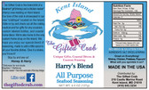 Harry's Blend Seafood Seasoning