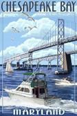 Chesapeake Bay Bridge 12x18 Print