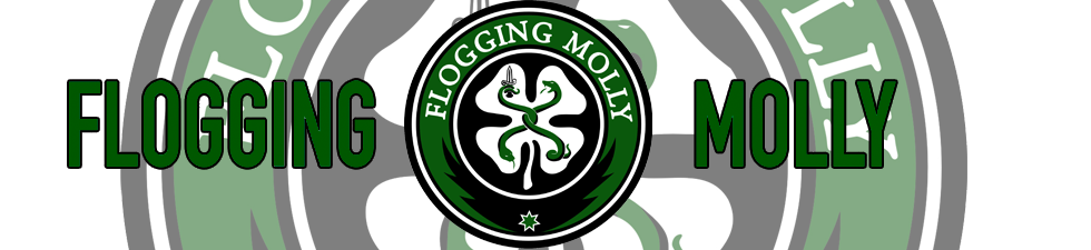 Shop Licensed Flogging Molly T-shirts   VolatileMerch.com