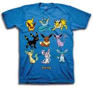 Pokemon - Eeveelution - Mens - T-shirt