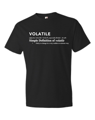 Volatile | Definition | Men's T-shirt