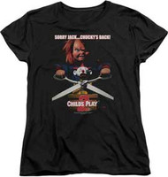 Childs Play - Chuckys Back - Womens - T-shirt