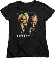 Childs Play - Chucky Gets Lucky - Womens - T-shirt
