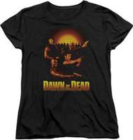 Dawn of the Dead - Dawn Collage - Womens - T-shirt
