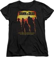 Dawn of the Dead - Title - Womens - T-shirt