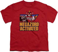 Power Rangers :  Mighty Morphin - Megazord Activated - Youth Tee