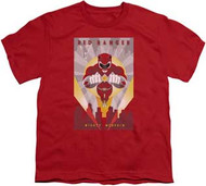Power Rangers :  Mighty Morphin - Red Ranger Deco - Youth Tee