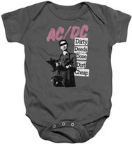 AC/DC - Dirty Deeds - Infant Snapsuit
