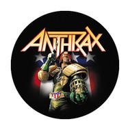 """Anthrax - Dredd - 1"""" Button"""