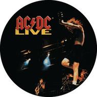 """AC/DC - Live - 1"""" Button"""