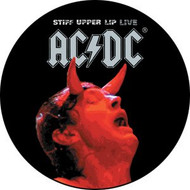 "AC/DC - Lip Live - 1"" Button"