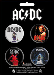 AC/DC - Assorted 2 - Button Set