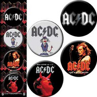AC/DC - Assorted 4 - Button Set