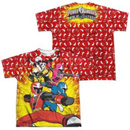 Power Rangers - Ninja Steel - Go Go 2 Sided - Youth Dye Sublimation T-shirt
