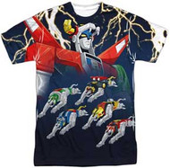 Voltron - Voltron - Mens Sublimated Tee