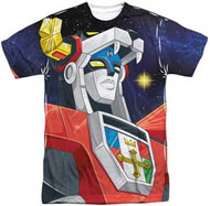 Voltron - Space - Mens Sublimated Tee