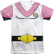 Voltron - Allura Costume Front - Mens Sublimated Tee