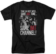 Batman - Classic TV Series - Bat Channel - Mens T-shirt