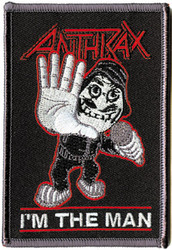 Anthrax - Man - Patches