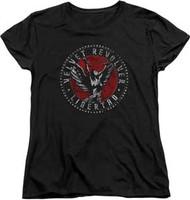 Velvet Revolver - Circle Logo - Women - T-shirt