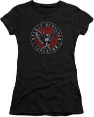 Velvet Revolver - Circle Logo - Junior Cap Sleeve - T-shirt