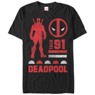 Deadpool - Deadpool Sil - Mens - T-shirt