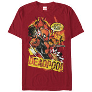 Deadpool - Scribbles - Mens - T-shirt